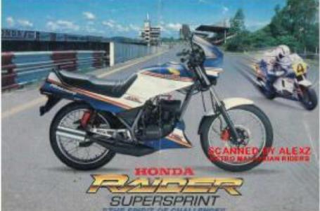 Sejarah Honda Raider