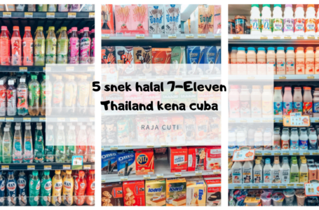 5 snek halal 7-Eleven Thailand wajib borong