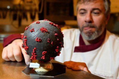 Kreatif! Makanan Dihasilkan Menyerupai Bentuk Virus COVID-19