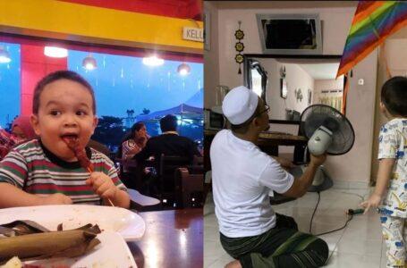 Respon Bapak Bila Anak Tiba-Tiba Ajak Main Layang-Layang Pukul 3pg Bikin Dekah