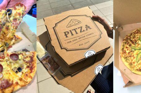 Pitza Lokal Air Tangan Chef Italy, Lembut & Padu!