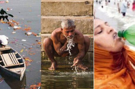 Masyarakat India Tetap Percaya Air Suci Dari Sungai Kotor Ni Mampu Sembuhkan Segala Penyakit