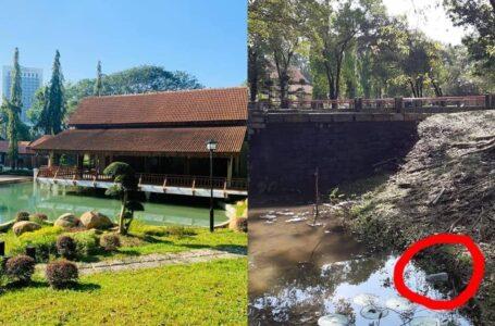 Mentaliti Masyarakat Malaysia Jauh Tertinggal, Taman Jepun Shah Alam Kotor Dengan Sampah