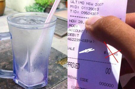 Peniaga Jual Air Kosong Lebih RM1 Segelas Diburu