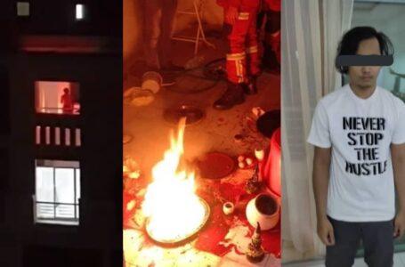 Ingatkan Kebakaran, Rupanya Tok Moh Muda Tengah Buat Ritual Sihir