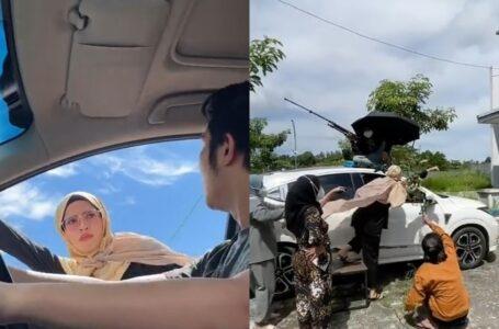 Wanita Dedah Behind The Scene Klip Terbang Kejar Suami Buat Ramai Kagum