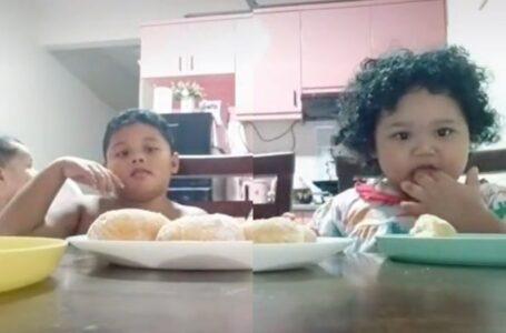 'Donut Ni Sama Gemuk Macam Kita', Gelagat Budak Sentap Bila Mak Gelak Bikin Ketawa